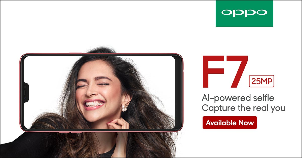 Oppo F7 Ad