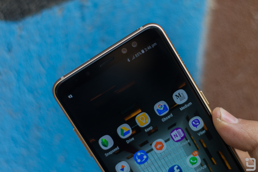 Samsung Galaxy A8+ Review: Almost Flagship – GadgetByte Nepal