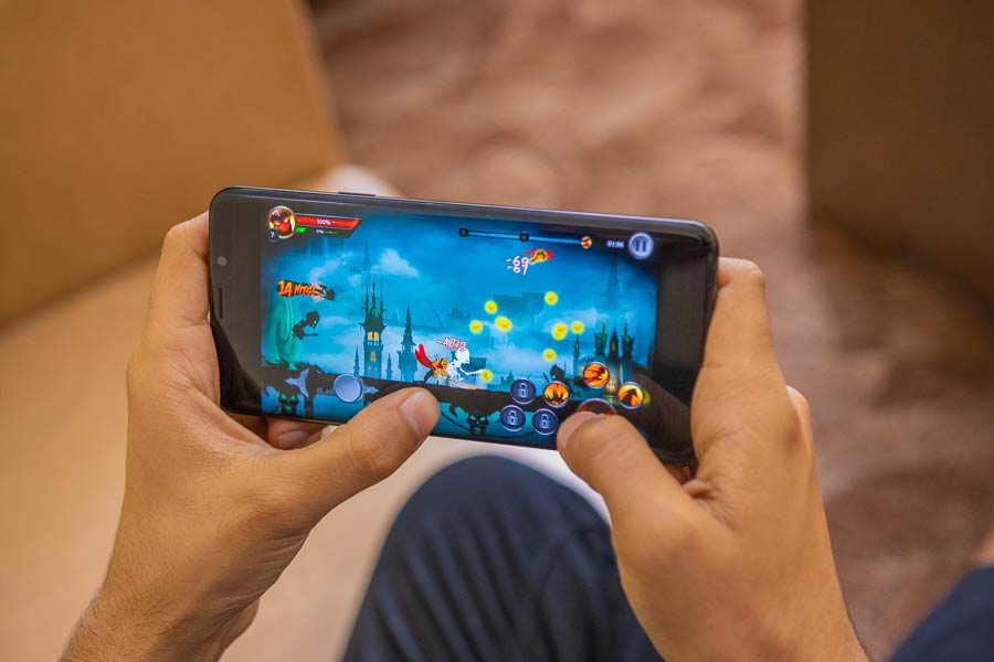 samsung galaxy s9 review performance gaming