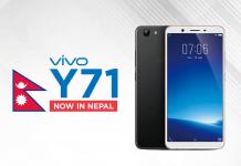 Vivo Y71 nepal price specs