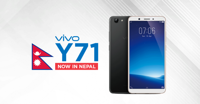 Vivo Y71 Price in Nepal | Latest Budget Smartphone from VIVO