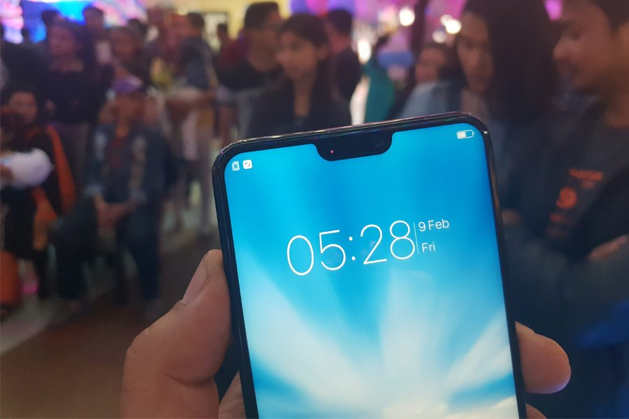 vivo v9 youth notched display