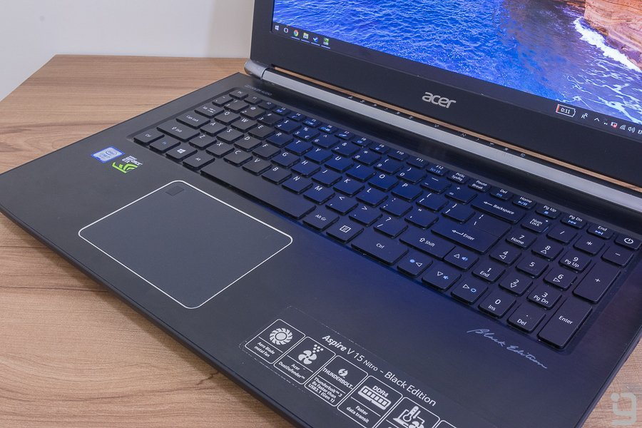Acer Aspire V Nitro Review keyboard