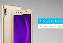 Coolpad Note 6 selfie lovers dual cameras snapdragon