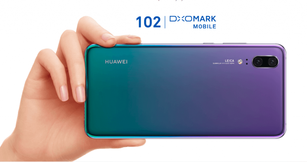 huawei p20 dxomark score