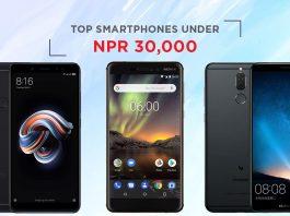 top smartphones under 30000