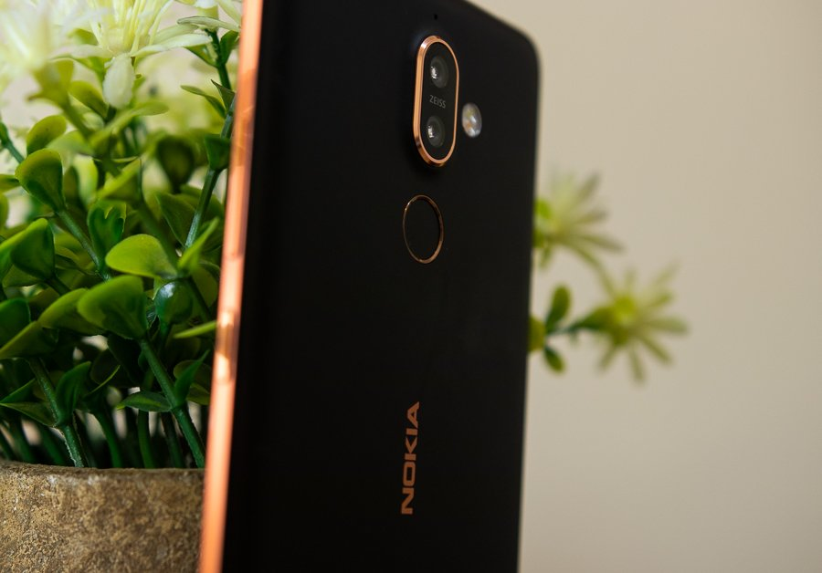 Nokia 7 Plus Nepal camera fingerprint