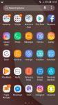 Samsung Galaxy J2 2018 screenshot app drawer