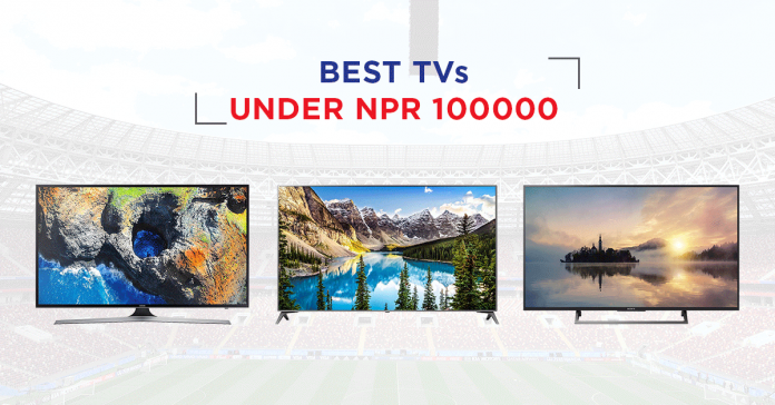best TV 100000 nepal price