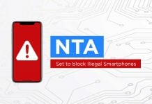 nta blocking illegal phones