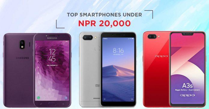 top smartphones under 20000 in nepal