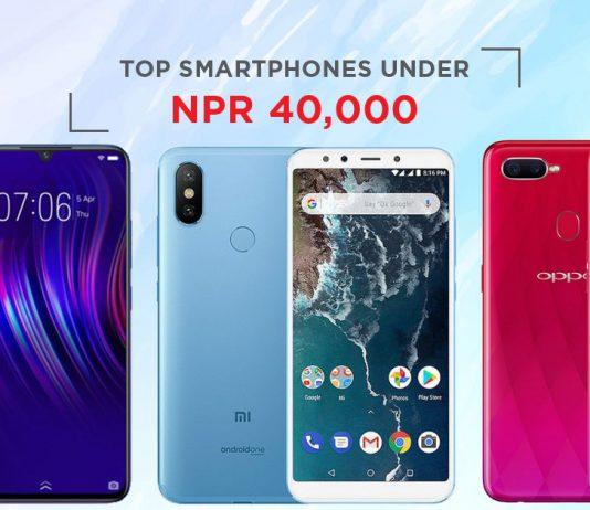 top smartphones under 40000