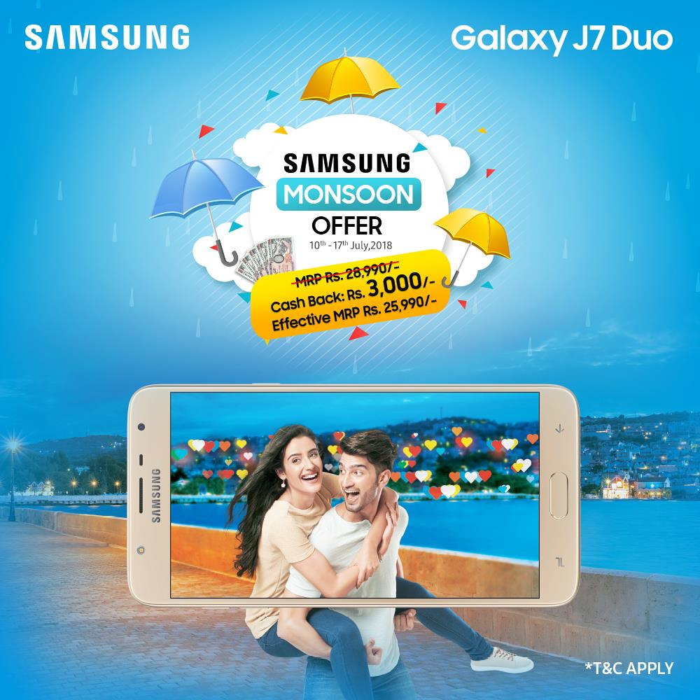 Samsung Galaxy J7 Duo Price Drop