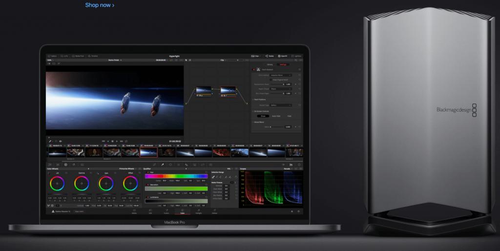MacBook Pro eGPU radeon 580