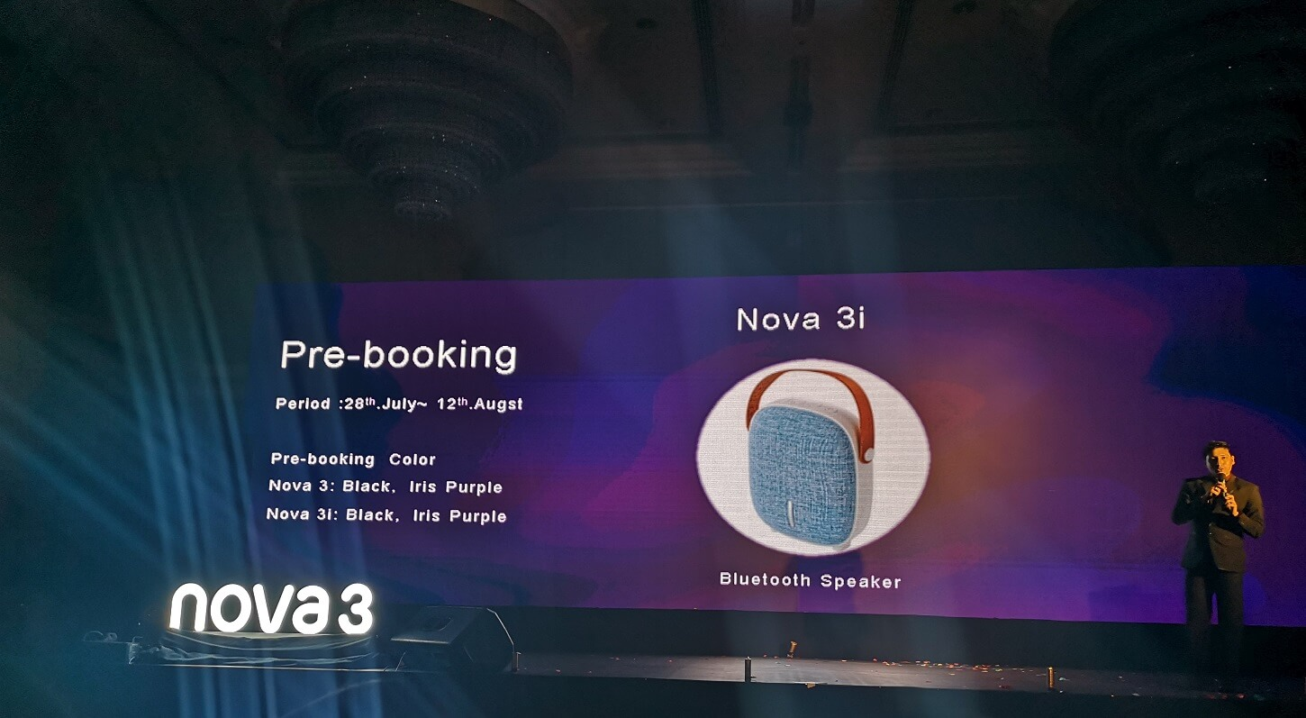 Huawei Nova 3i prebooking offer nepal
