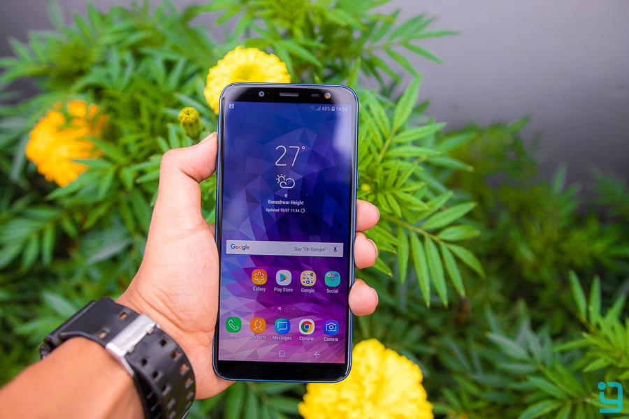Samsung Galaxy J6 Review infinity display
