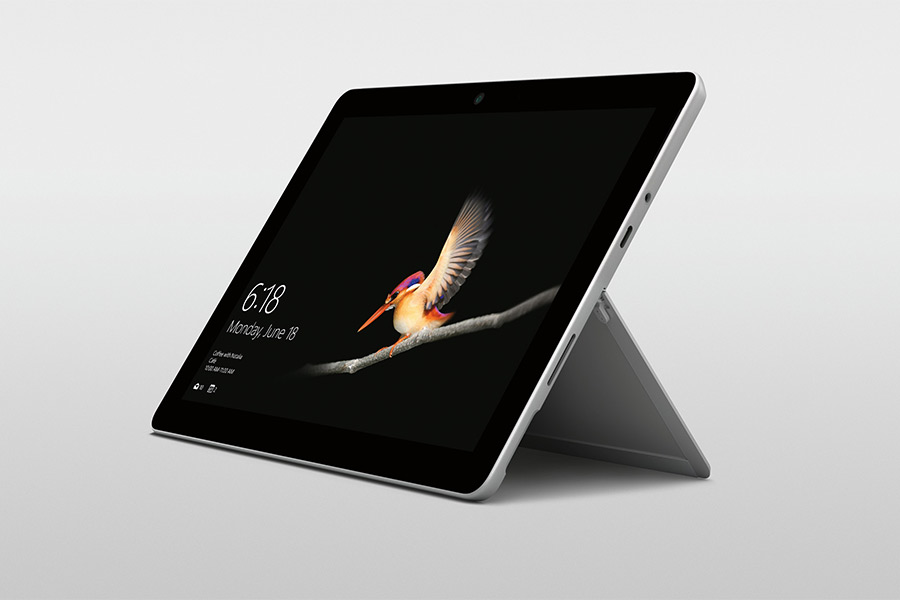 microsoft surface go design display