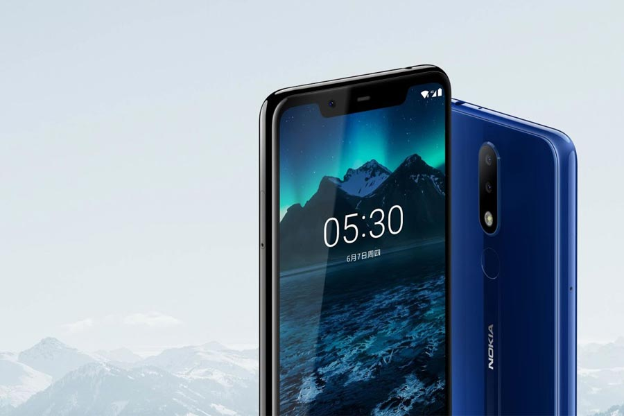 nokia x5 nokia 5.1 plus design