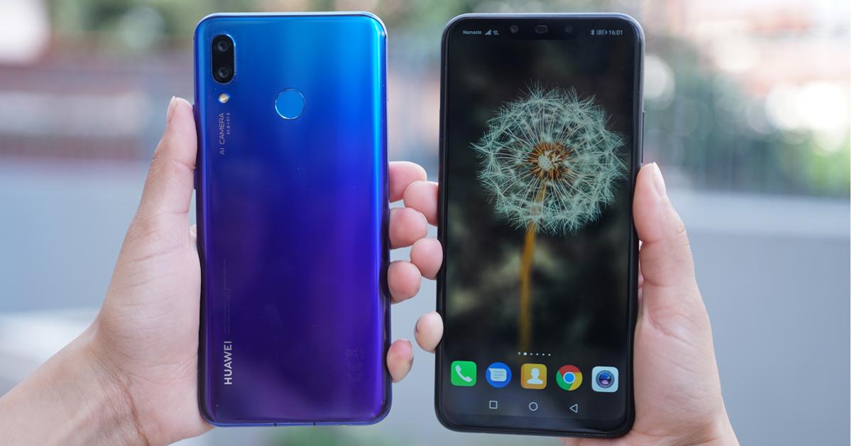 Huawei Nova 3 and Nova 3i available nepal