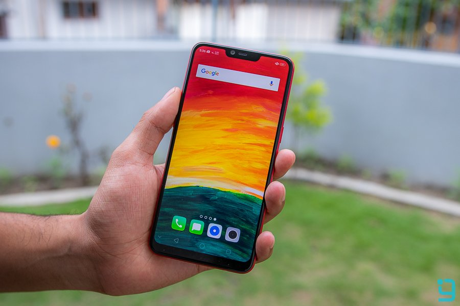 OPPO A3s Review display