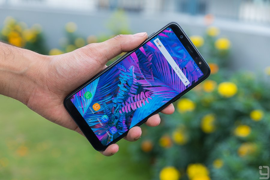 Samsung Galaxy A6 Plus display review