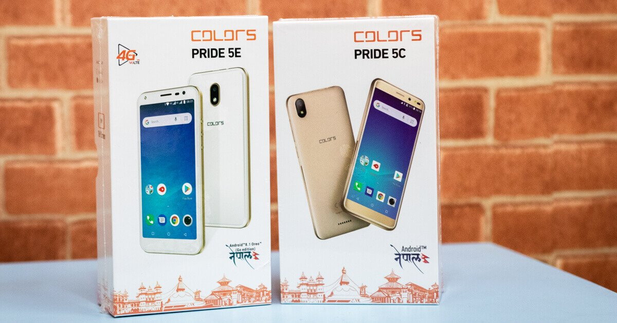 Colors Pride 5C & Pride 5E Price, specifications, features