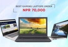 top gaming laptops in nepal under rs. 70000