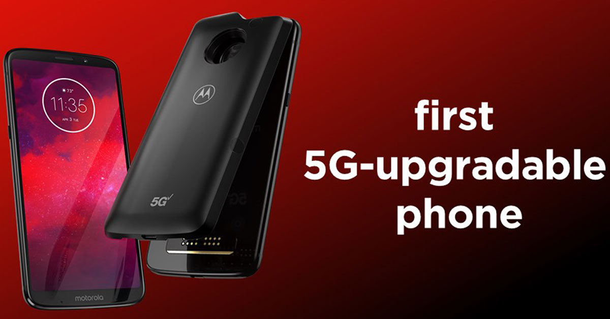 Motorola Moto Z3 announced: The world's first 5G Upgradable phone on