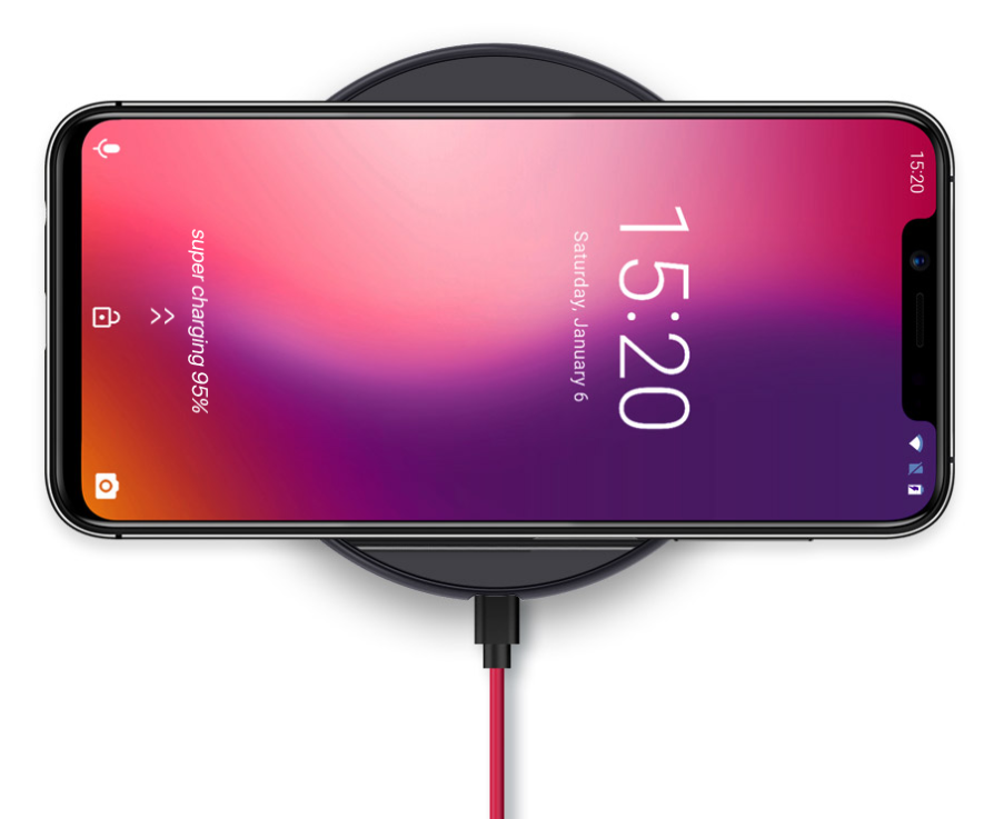 umidigi one wireless charging