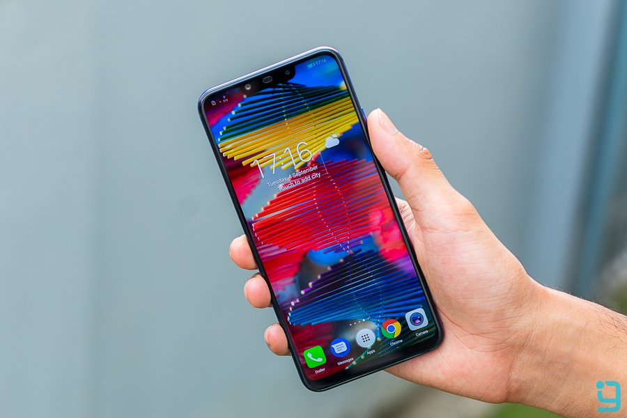 Huawei Nova 3 display review