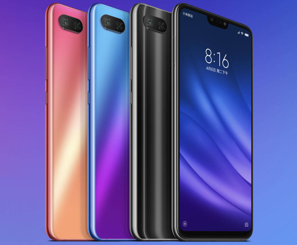 xiaomi mi 8 lite colors