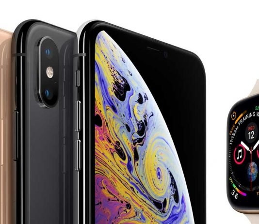 apple iphone xs max xr watch series 4