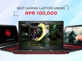 top gaming laptops nepal