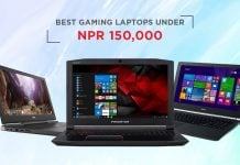 top gaming laptops nepal 150000