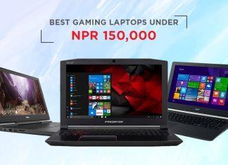 top gaming laptops nepal 150000