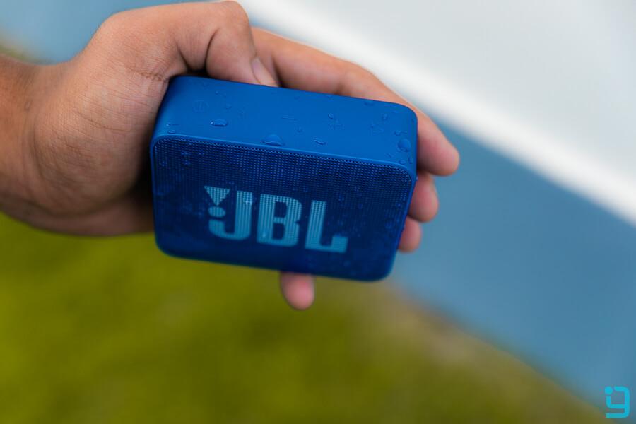 jbl go 2 water resistant speaker