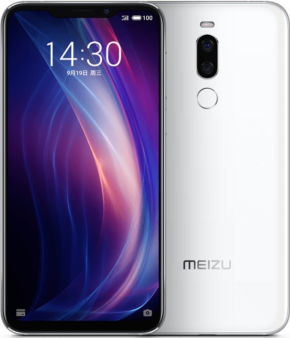 meizu x8 design display