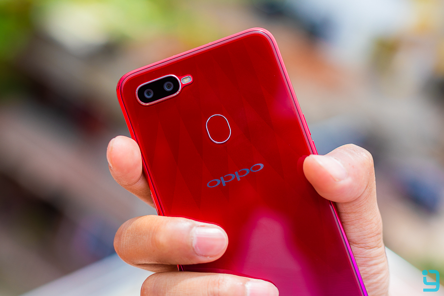 oppo f9 review grip