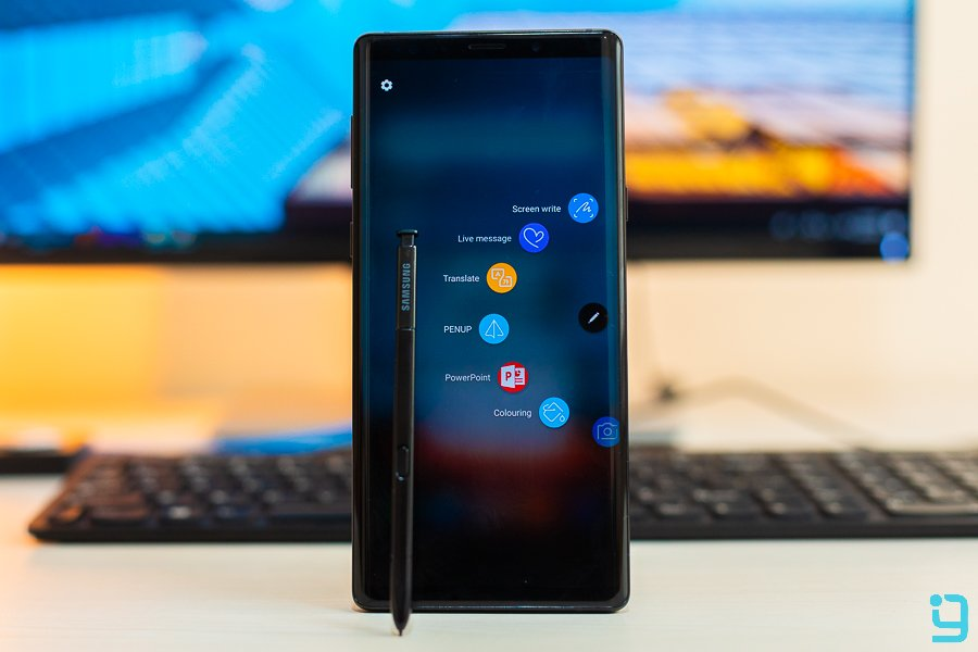 samsung galaxy note 9 spen features
