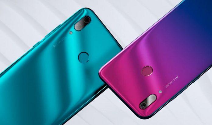 Huawei Y9 2019 design