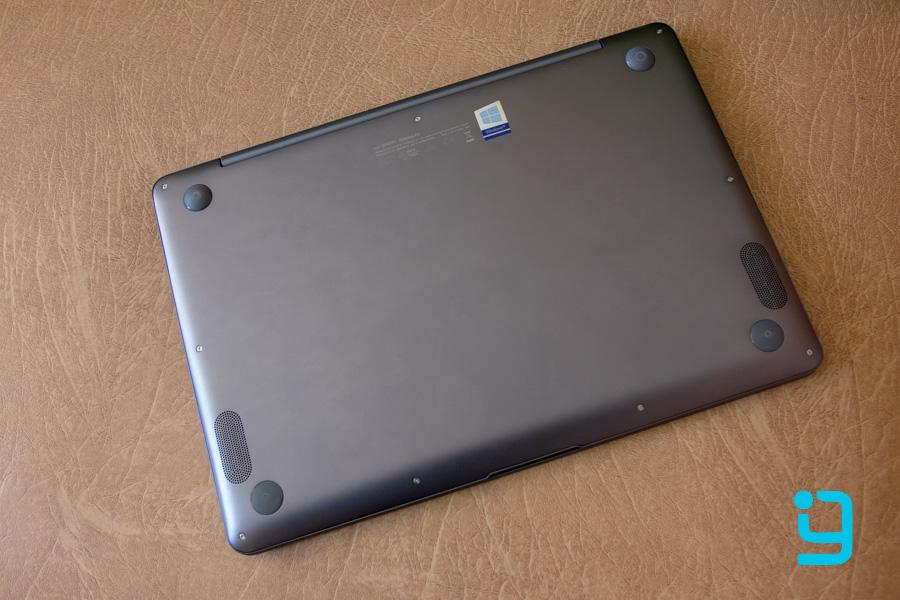 asus zenbook ux430u design back