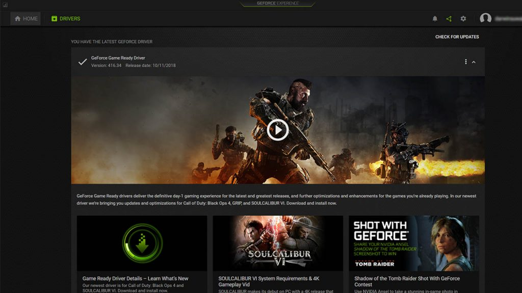 geforce for pc