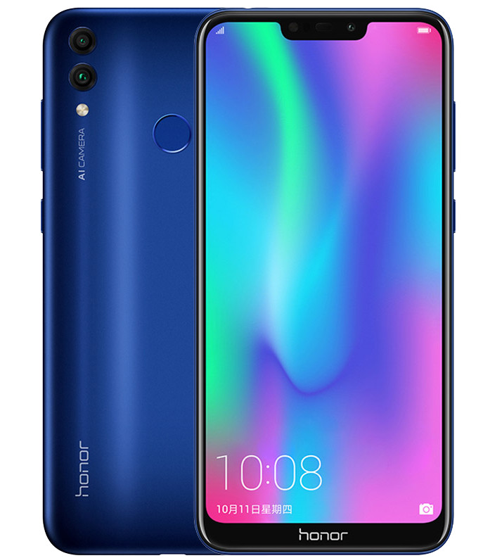 honor 8c design display