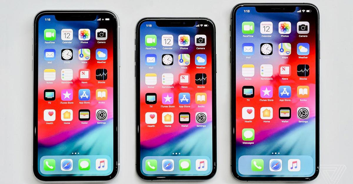 iPhone XS Max, iPhone XS, and iPhone XR Price in Nepal