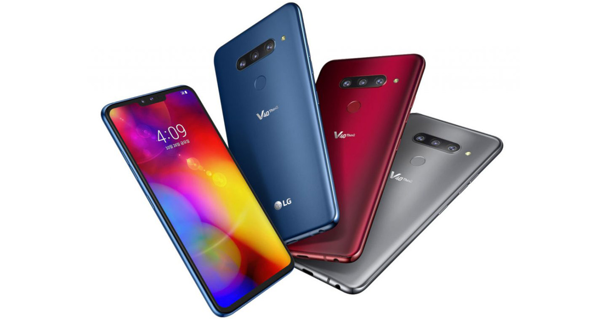 LG V40 ThinQ Specifications, features, price, release date & more