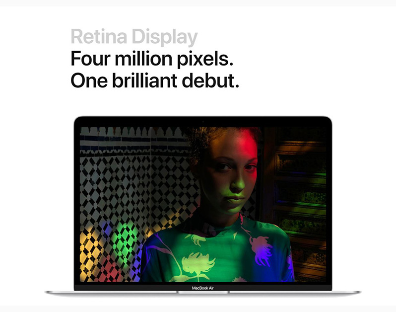 apple macbook air 2018 display
