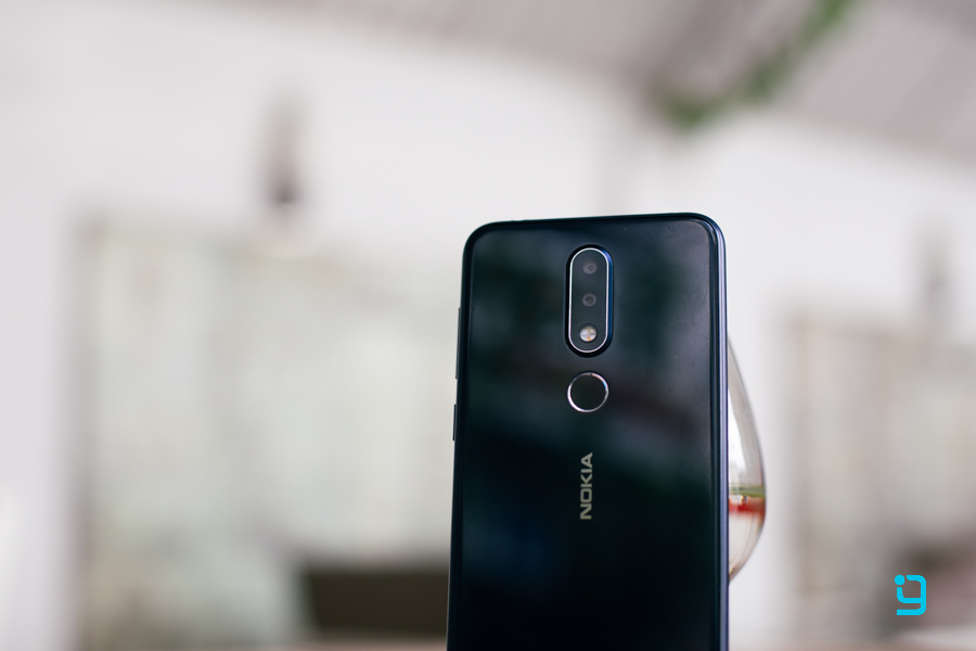 nokia 6.1 plus back camera