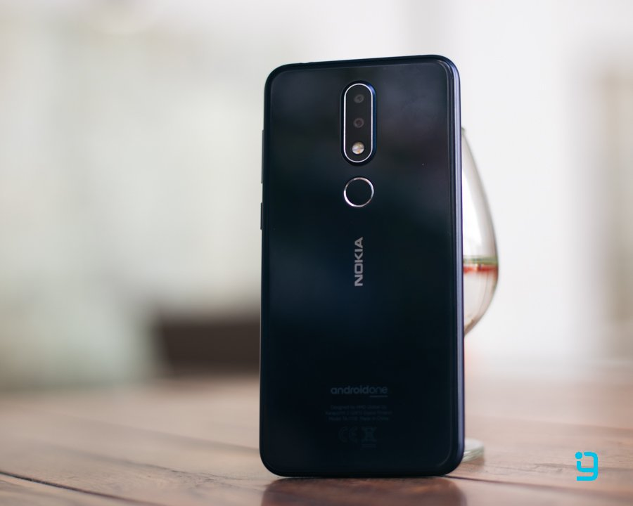 nokia 6.1 plus design