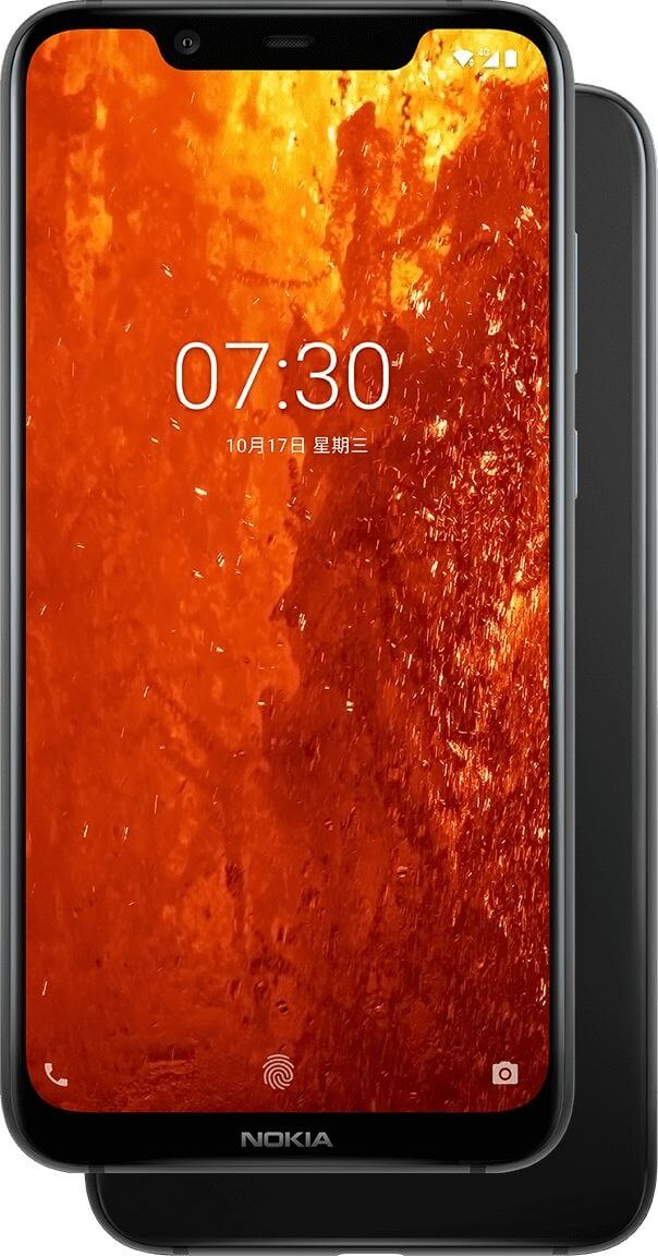nokia X7 display