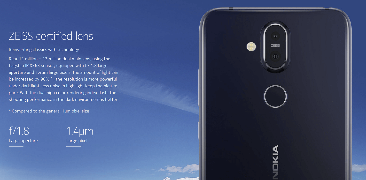 nokia x7 camera specs features